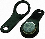 DS9093N+ - iButton Key Ring Mount, Angled Fob