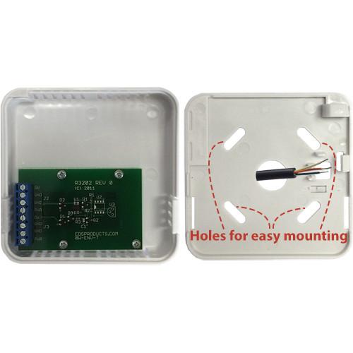 Wall Mount Temperature Sensor : Ow env t ds b wall mount temperature sensor
