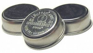 DS1904L-F5# - Real Time Clock (RTC) iButton