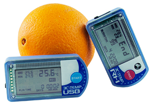 TEMP USB Data loggers with Orange