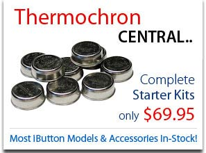 Thermochron Central. Complete starter kits starting at $69.95. Most iButton Models and accessories in-stock!
